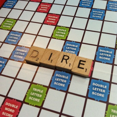 Starting off Scrabble with style